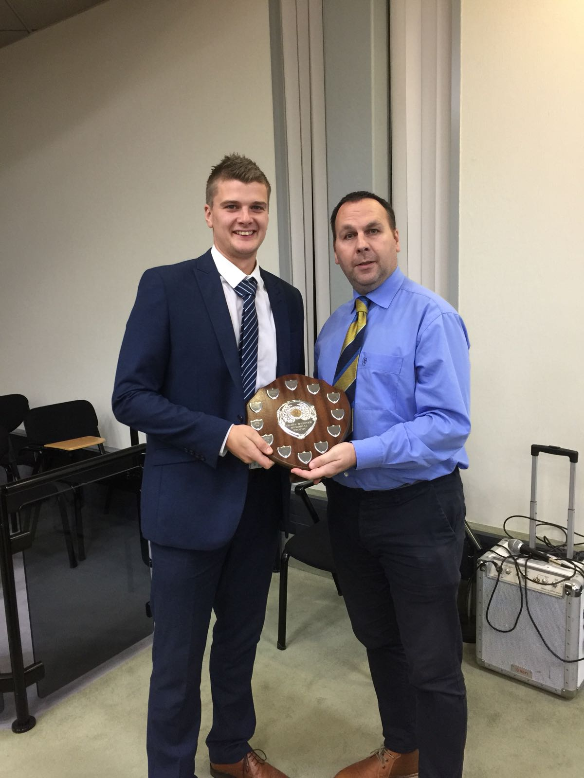 Andy Gamble-Archie Webster Shield